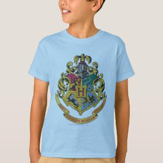 Wappen Harry Potter   Hogwarts - farbenreich T-Shirt
