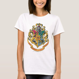 Wappen Harry Potter | Hogwarts - farbenreich T-Shirt