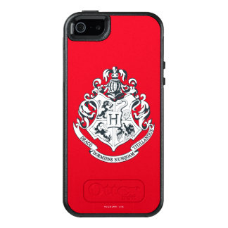 Wappen Harry Potter | Hogwarts - Schwarzweiss OtterBox iPhone 5/5s/SE Hülle