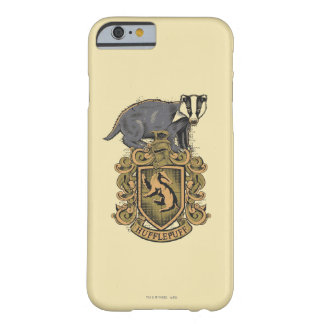 Wappen Harry Potter | Hufflepuff mit Dachs Barely There iPhone 6 Hülle