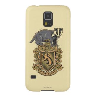 Wappen Harry Potter   Hufflepuff mit Dachs Galaxy S5 Hülle