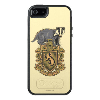 Wappen Harry Potter | Hufflepuff mit Dachs OtterBox iPhone 5/5s/SE Hülle