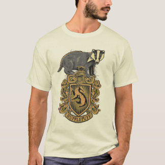 Wappen Harry Potter | Hufflepuff mit Dachs T-Shirt
