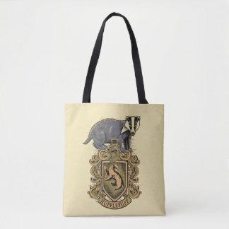 Wappen Harry Potter   Hufflepuff mit Dachs Tasche