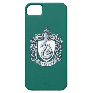 Wappen Harry Potter   Slytherin - Eis-Blau iPhone 5 Etuis