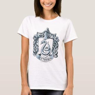 Wappen Harry Potter | Slytherin - Eis-Blau T-Shirt