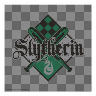 Wappen Harry Potter | Slytherin QUIDDITCH™ Poster