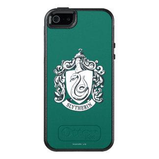 Wappen Harry Potter   Slytherin - Schwarzweiss OtterBox iPhone 5/5s/SE Hülle
