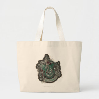 Wappen Harry Potter | Slytherin - Vintag Jumbo Stoffbeutel