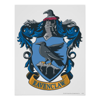 Wappen Harry Potters | Ravenclaw Poster