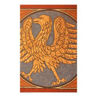Wappen in Berlin, Deutschland Briefpapier