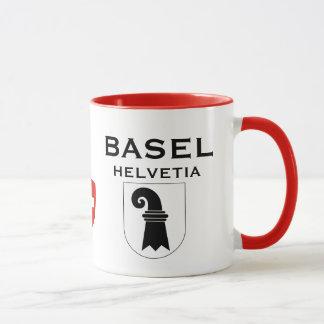 Wappen-Kaffee-Tasse Basels die Schweiz Tasse