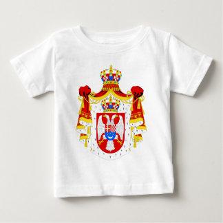 Wappen Königreich offiziellen Symbols Jugoslawiens Baby T-shirt