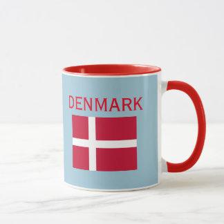 Wappen Kopenhagens Dänemark u. Flaggen-Tasse Tasse