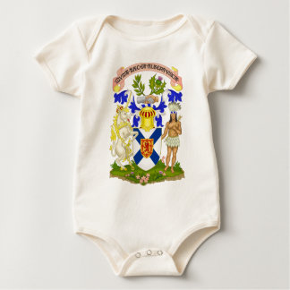 Wappen Neuschottlands (Kanada) Baby Strampler