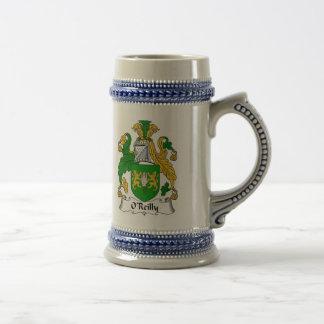 Wappen O Reilly Stein - Familienwappen Bierglas