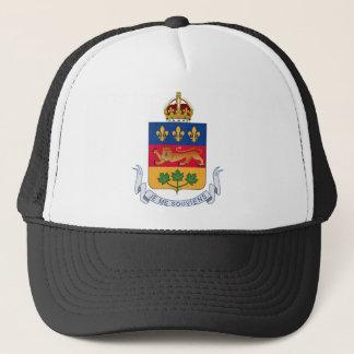 Wappen Quebecs (Kanada) Truckerkappe