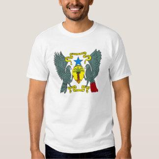 Wappen Saos Tome Principe T - Shirt