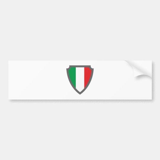 Wappen Schild hatchment Italien Italy Italia Autoaufkleber