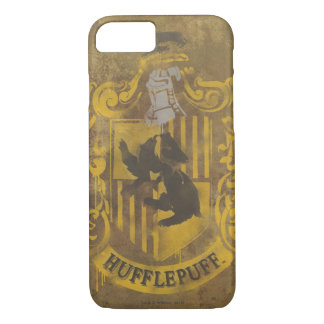 Wappen-Spray-Farbe Harry Potter | Hufflepuff iPhone 8/7 Hülle