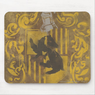 Wappen-Spray-Farbe Harry Potter   Hufflepuff Mousepad