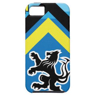 Wappen Streifen des Drache-Löwe-2 Hülle Fürs iPhone 5