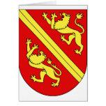 Wappen Vogtei Thurgau, Ungarn Karte