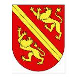 Wappen Vogtei Thurgau, Ungarn Postkarte