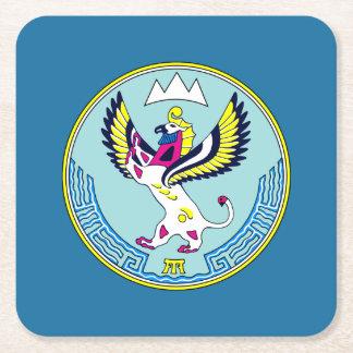 Wappen von Altai Rechteckiger Pappuntersetzer