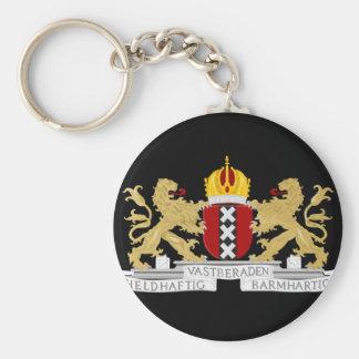 Wappen von Amsterdam Schlüsselanhänger