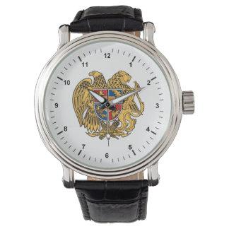 Wappen von Armenien-Uhr Handuhr