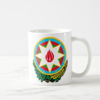Wappen von Aserbaidschan - Азәрбајҹангерби Kaffeetasse
