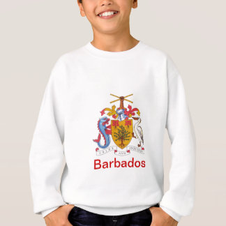 Wappen von Barbados Sweatshirt