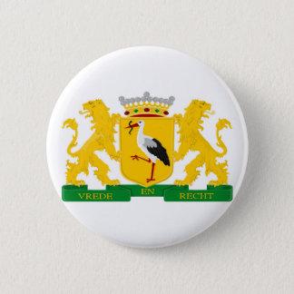 Wappen von Den Haag Runder Button 5,1 Cm