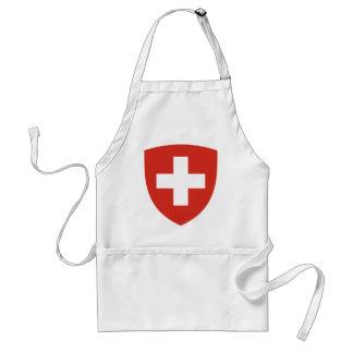 Wappen von die Schweiz - Wappen der Schweiz Schürze