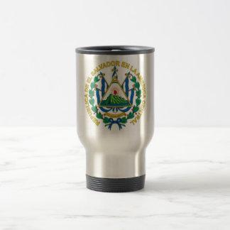 Wappen von El Salvador Reisebecher
