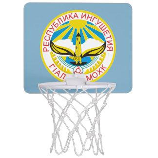 Wappen von Inguschetien Mini Basketball Ring