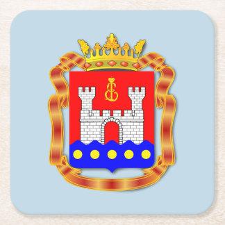 Wappen von Kaliningrad oblast Rechteckiger Pappuntersetzer