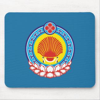 Wappen von Kalmückien Mousepad