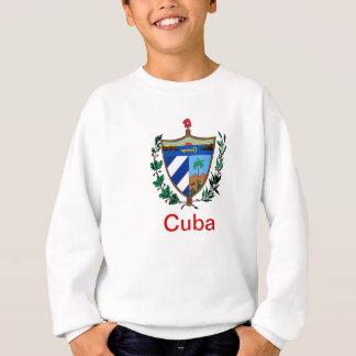 Wappen von Kuba Sweatshirt