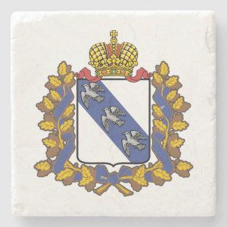 Wappen von Kursk oblast Steinuntersetzer