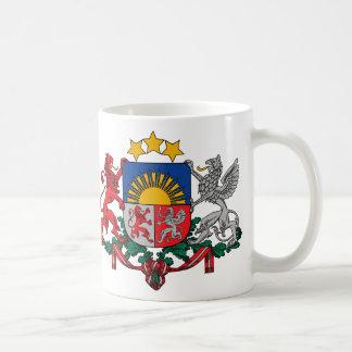 Wappen von Lettland - Latvijas ģerbonis Kaffeetasse
