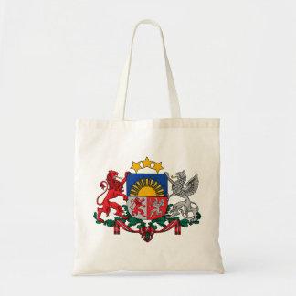 Wappen von Lettland - Latvijas ģerbonis Tragetasche
