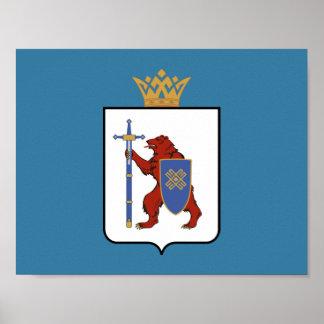 Wappen von Mari-EL Poster