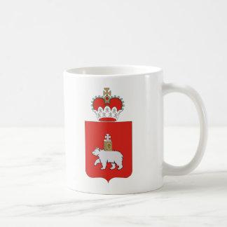 Wappen von Perm krai Kaffeetasse