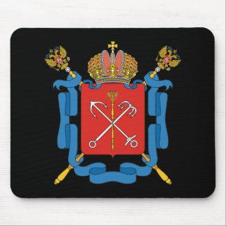 Wappen von St Petersburg Mousepad