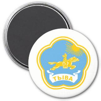 Wappen von Tuwa Runder Magnet 7,6 Cm