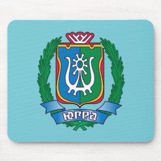 Wappen von Yugra Mousepad