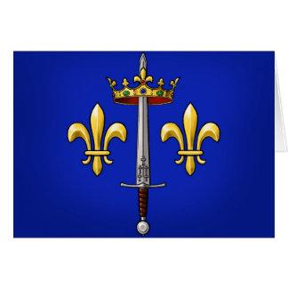 Wappenkunde von Jeanne d'Arc Jeanne D'Arc Karte