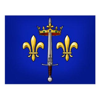 Wappenkunde von Jeanne d'Arc Jeanne D'Arc Postkarte